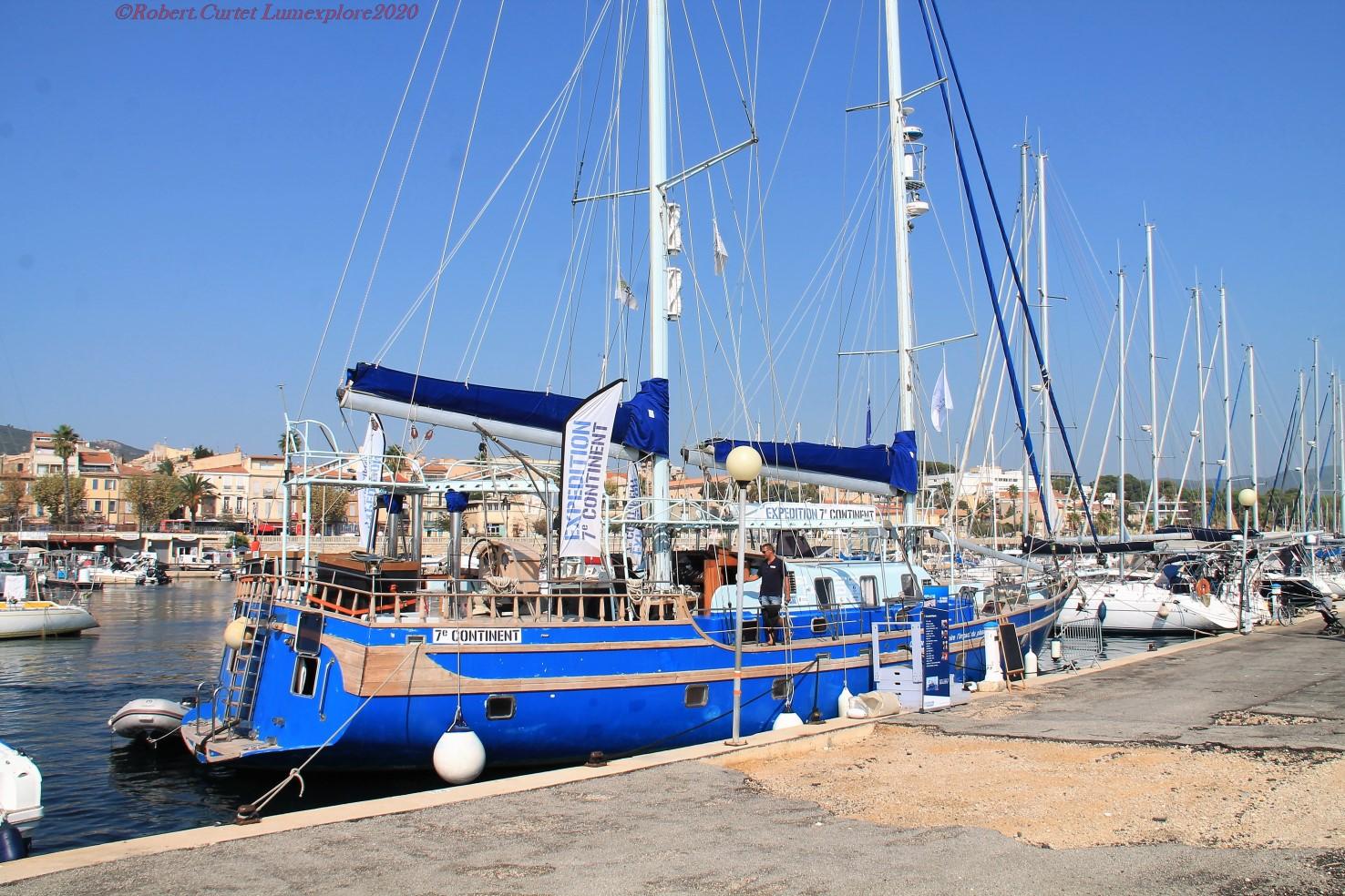 Patrick DEIXONNE et le bateau 7e Continent