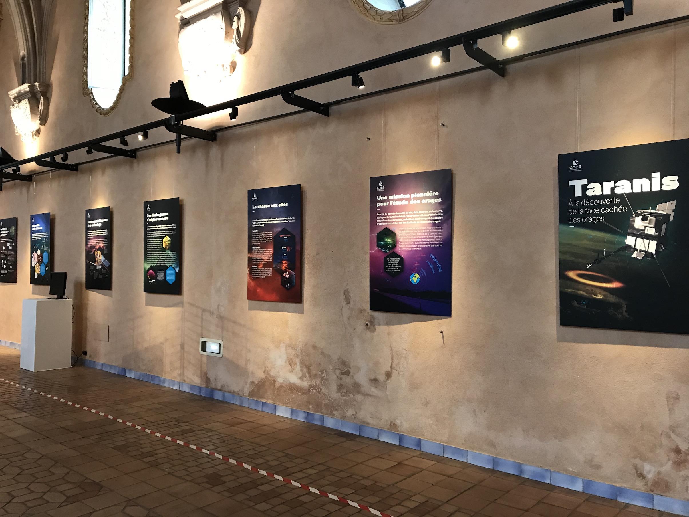 """Taranis"", exposition CNES"